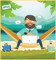 Werkruimte thuis | Administratiekantoor Cijfermaat