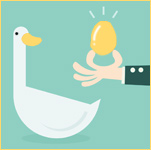Ruilmiddel gouden ei